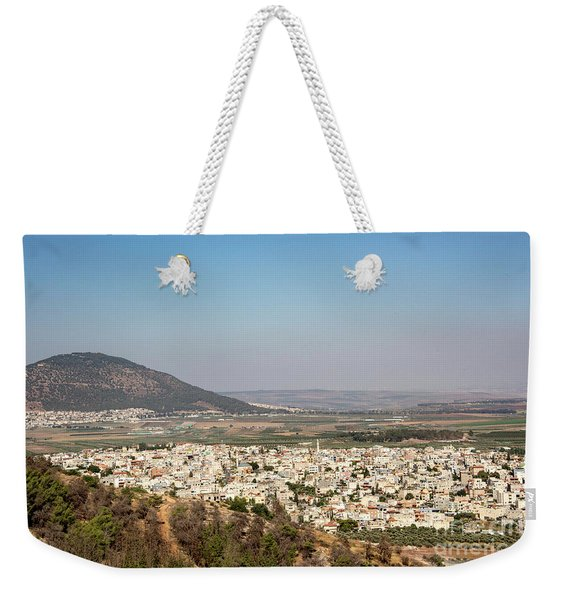 Weekender Tote Bag featuring the photograph Mount Of Ascension by Mae Wertz