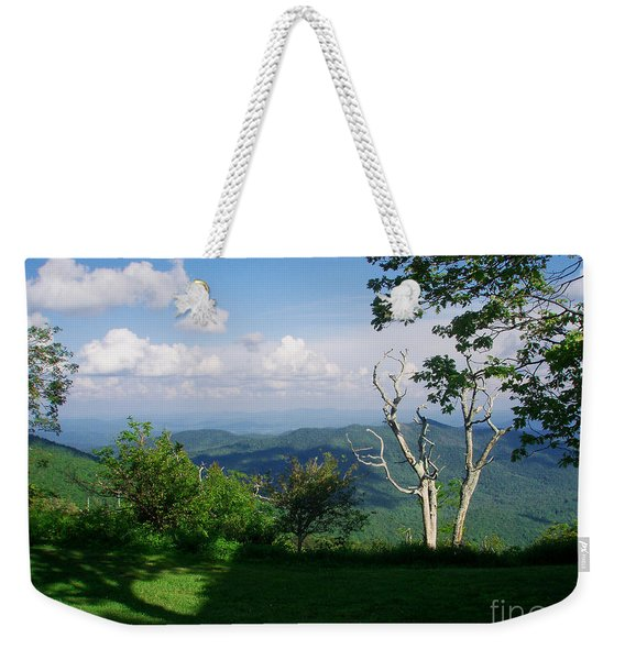 Mount Pisgah Vista Weekender Tote Bag