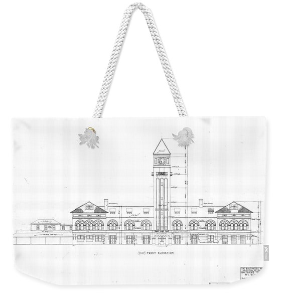 Mount Royal Station Weekender Tote Bag
