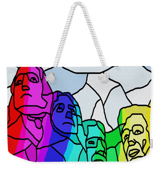Mount Rushmore Weekender Tote Bag