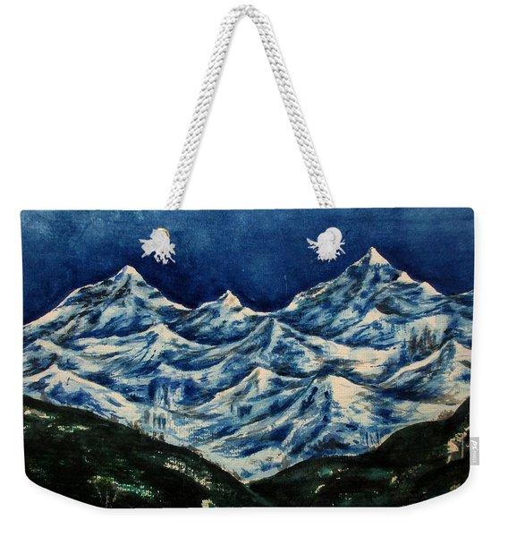 Mountain-2 Weekender Tote Bag