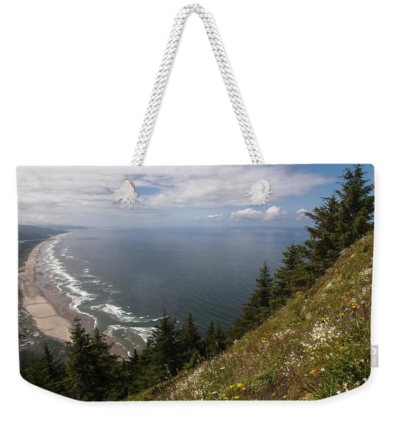 Mountain And Beach Weekender Tote Bag