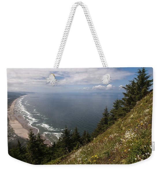 Mountain And Beach Weekender Tote Bag