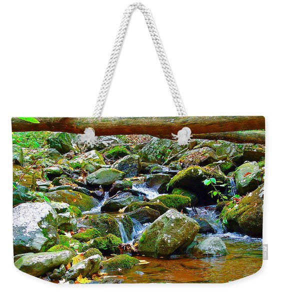 Mountain Appalachian Stream 2 Weekender Tote Bag