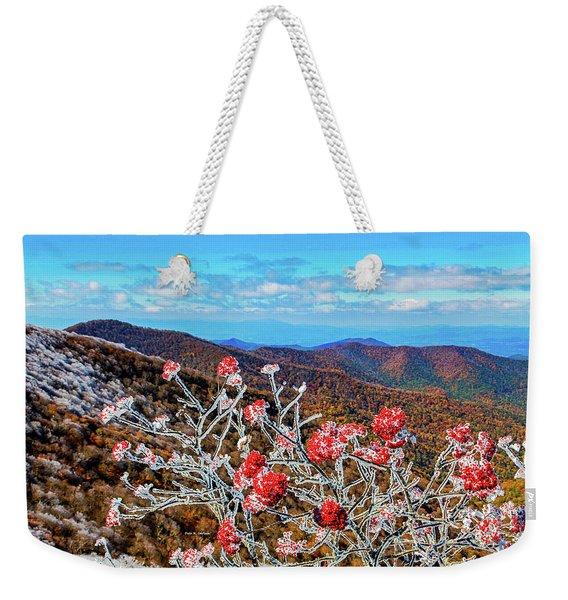 Mountain Ashe Weekender Tote Bag