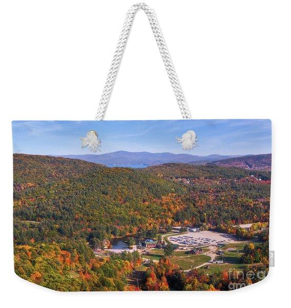 Mountain Foliage II Weekender Tote Bag