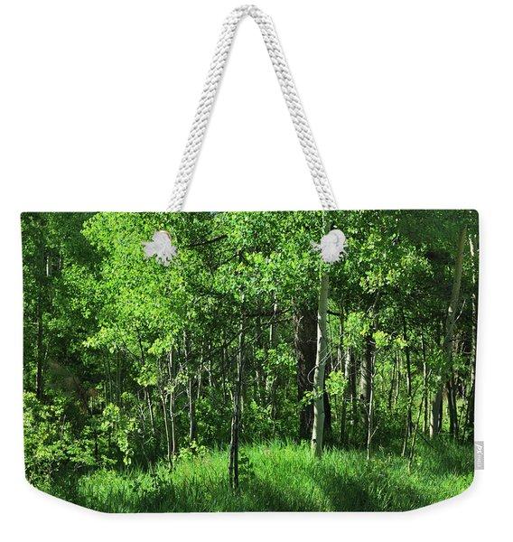 Mountain Greenery Weekender Tote Bag