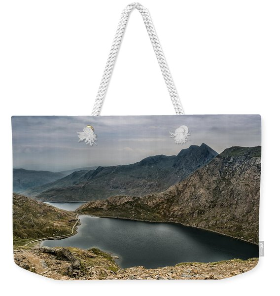Weekender Tote Bag featuring the photograph Mountain Hike by Nick Bywater