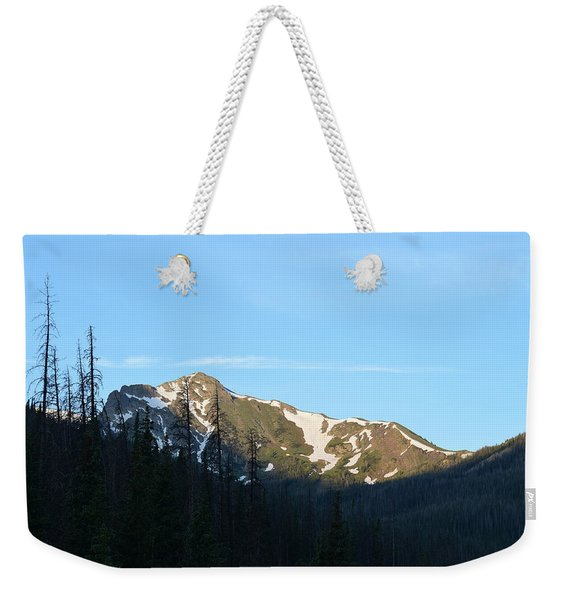 Mountain In Rocky Mountian Np Co Weekender Tote Bag