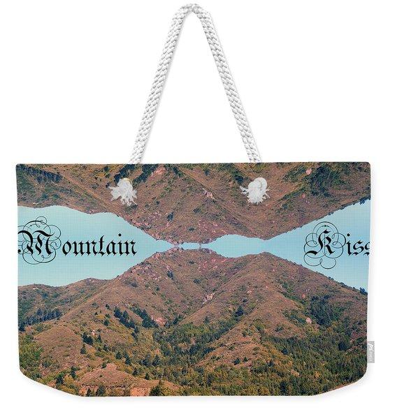 Mountain Kiss  Weekender Tote Bag
