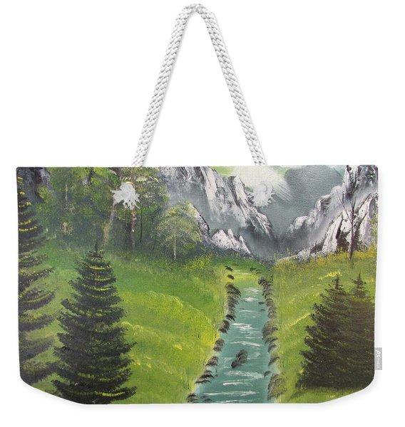 Mountain Meadow Weekender Tote Bag