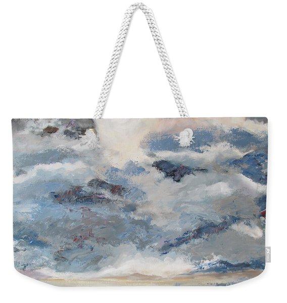 Mountain Mist Weekender Tote Bag