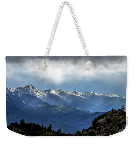Mountain Moodiness Weekender Tote Bag