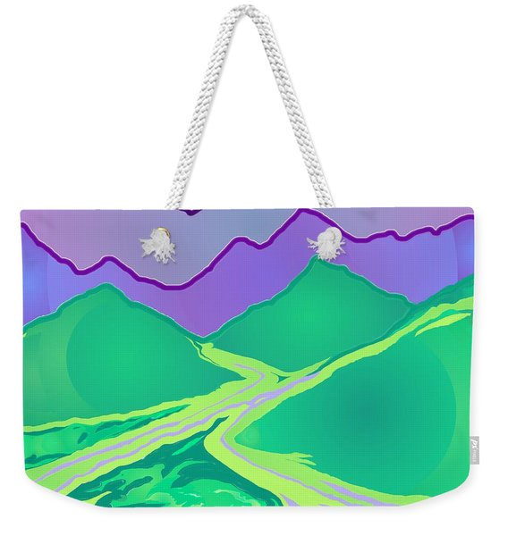 Mountain Murmurs Weekender Tote Bag