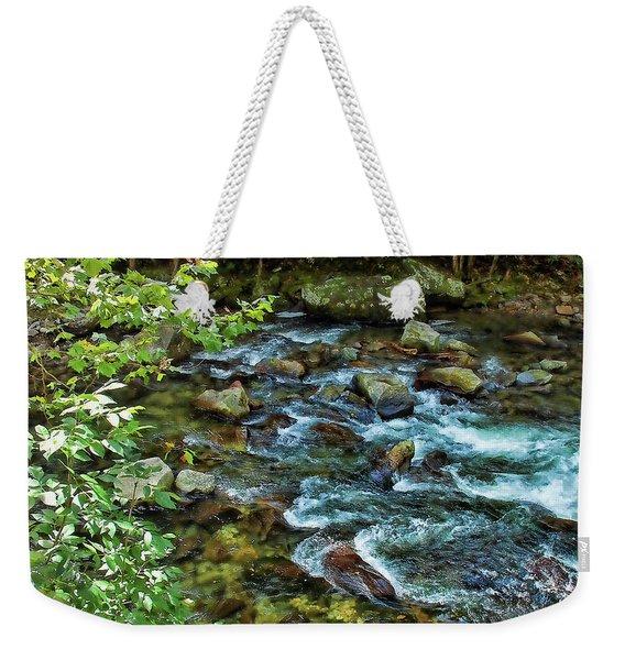 Mountain Music Weekender Tote Bag