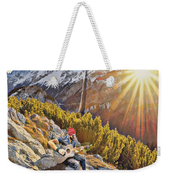 Mountain Of The Lord Weekender Tote Bag