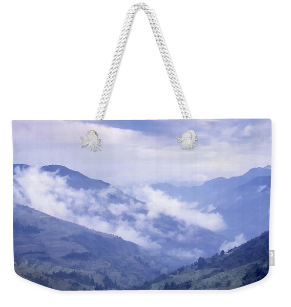 Mountain Pass, France Weekender Tote Bag