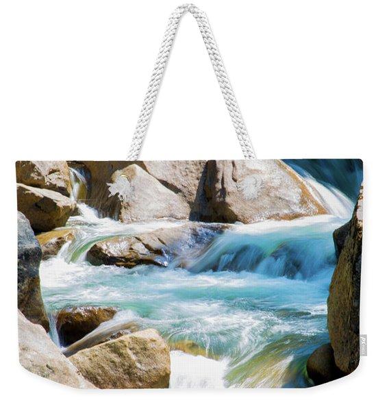 Mountain Spring Water Weekender Tote Bag