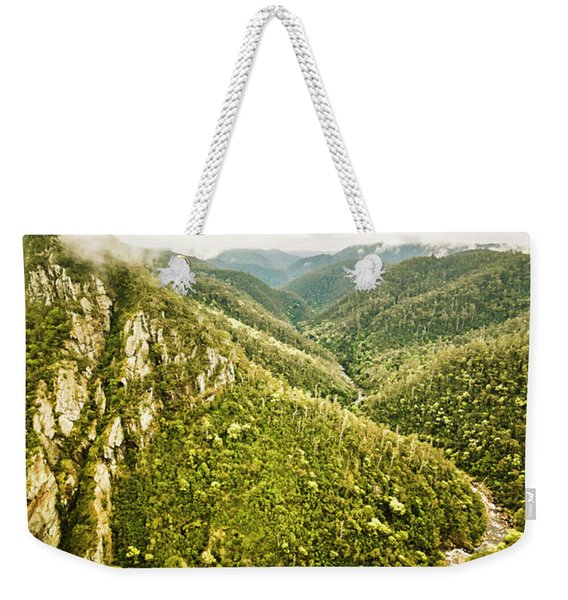 Mountain Streams Weekender Tote Bag