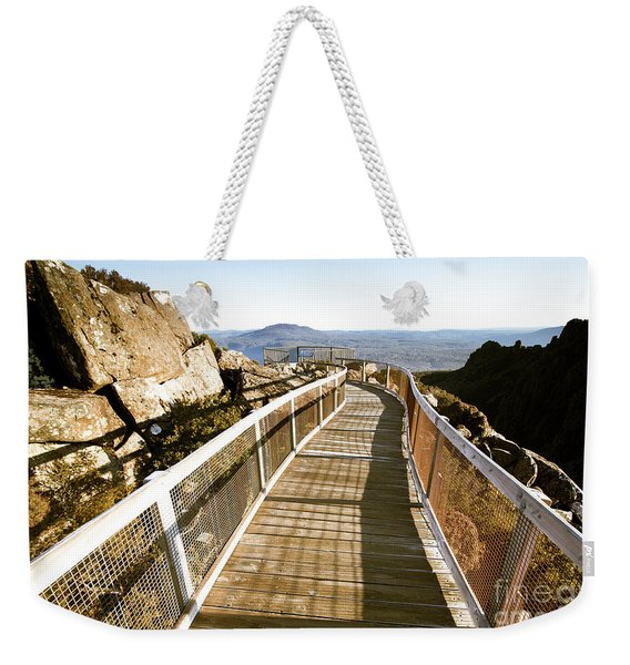 Mountain Summit Lookout Weekender Tote Bag