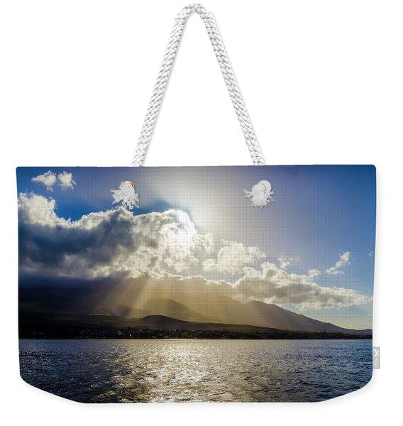 Mountain Sunbeams Weekender Tote Bag