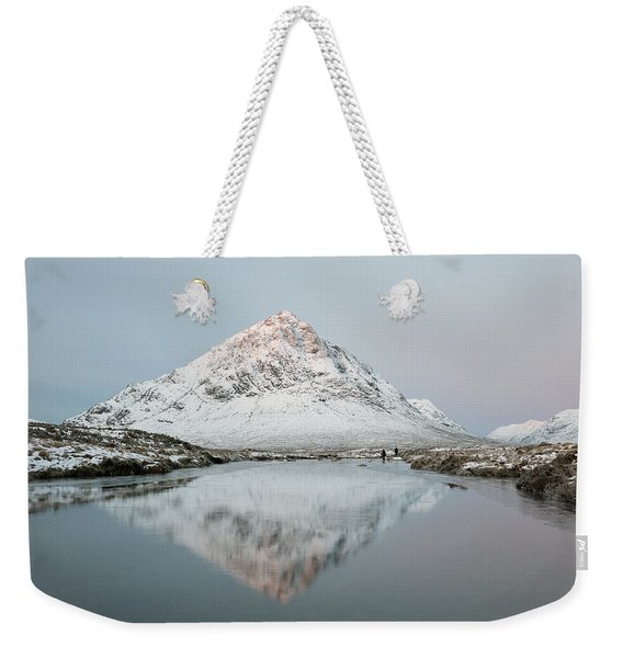 Mountain Sunrise Weekender Tote Bag