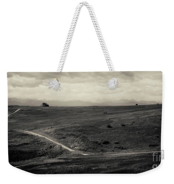 Mountain Trail Weekender Tote Bag