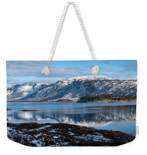 Mountain Tranquillity  Weekender Tote Bag