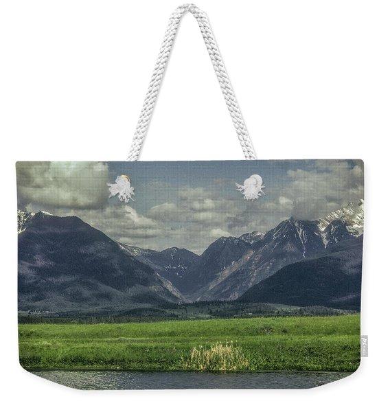Mountain View Montana.... Weekender Tote Bag