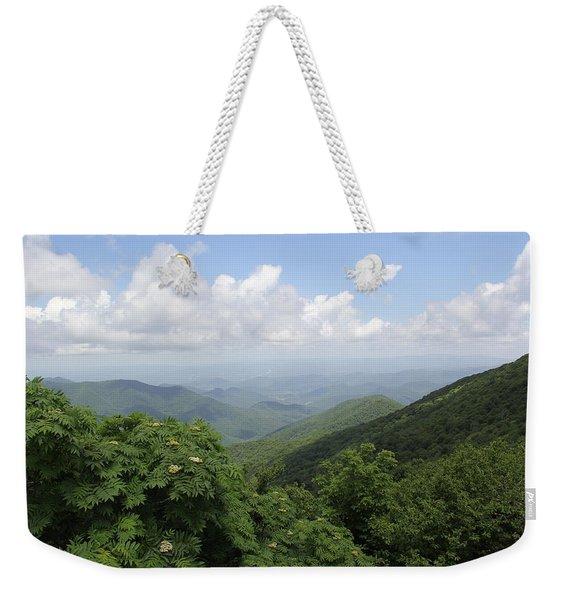 Mountain Vista Weekender Tote Bag