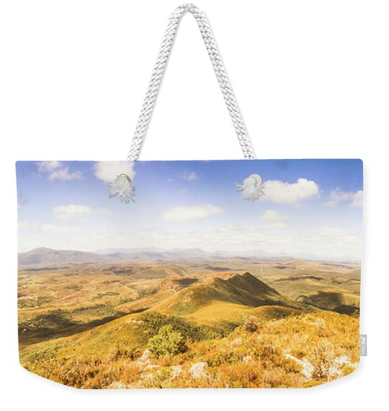 Mountains And Open Spaces Weekender Tote Bag