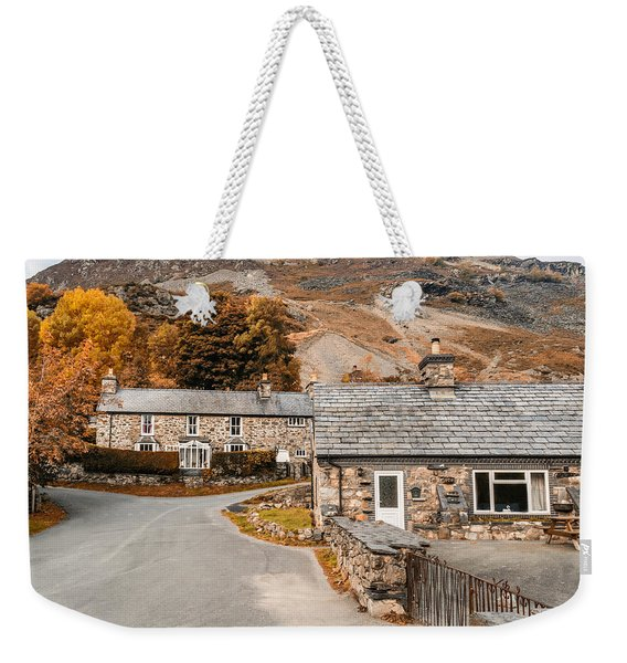 Weekender Tote Bag featuring the photograph Mountains In The Back Yard by Nick Bywater