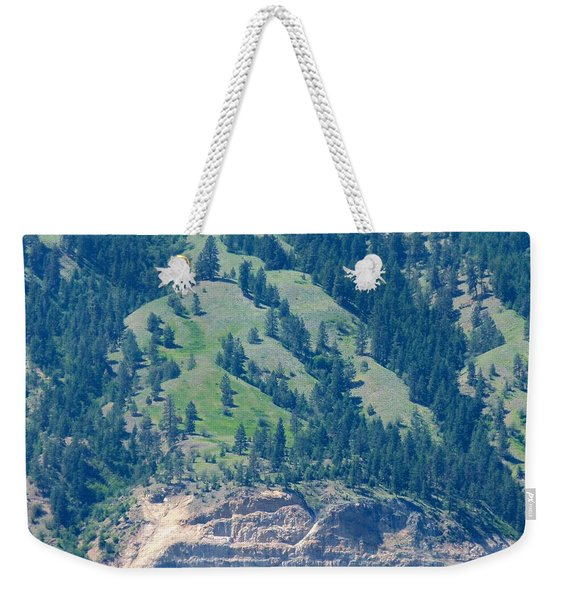 Mountainside Weekender Tote Bag