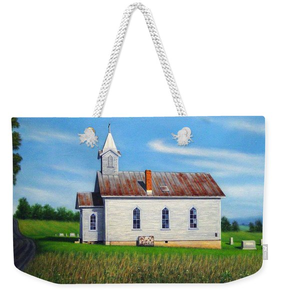 Mountain View Church Weekender Tote Bag