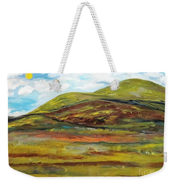 Mountaiscape 2  Weekender Tote Bag