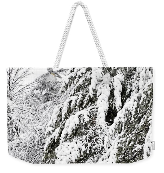 Mourn The Winter Weekender Tote Bag
