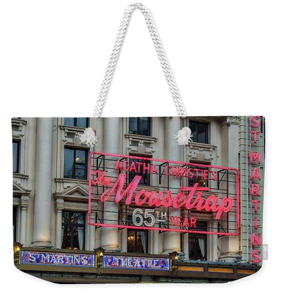 Mousetrap 65 Weekender Tote Bag