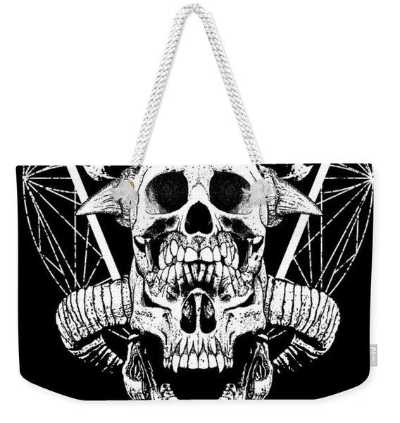Mouth Of Doom Weekender Tote Bag