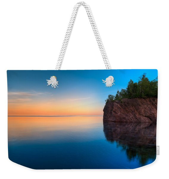 Mouth Of The Baptism River Minnesota Weekender Tote Bag