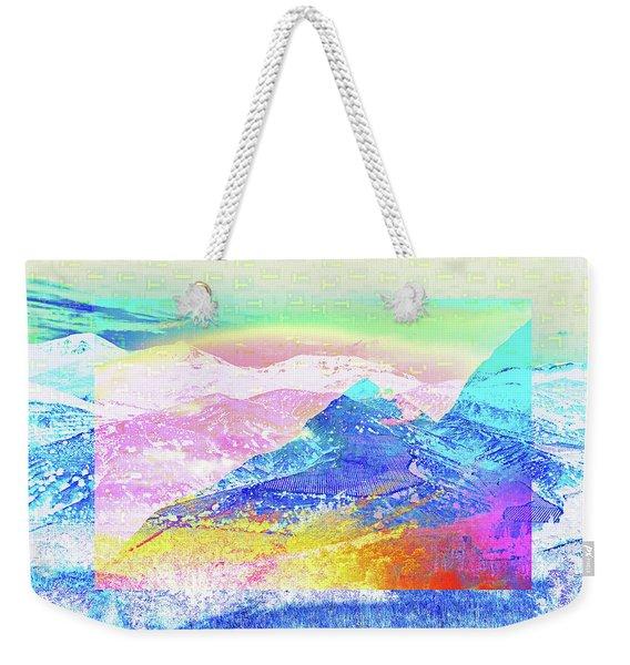 Move Mountain Weekender Tote Bag