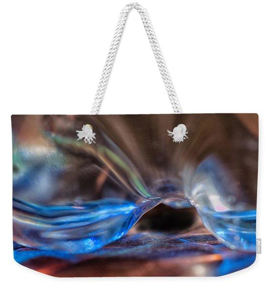 Movement In Blue Weekender Tote Bag