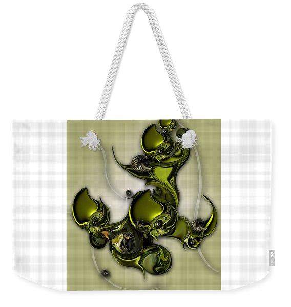 Movement Of Life  Weekender Tote Bag