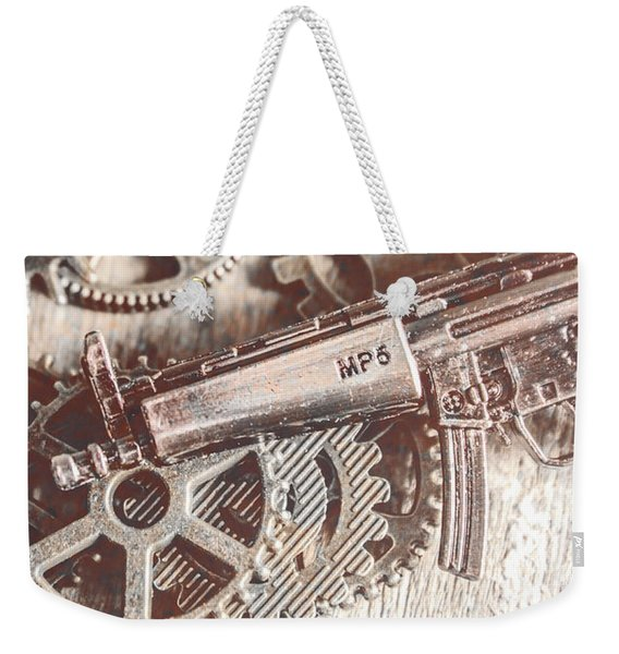 Movement Of Military Arms Weekender Tote Bag