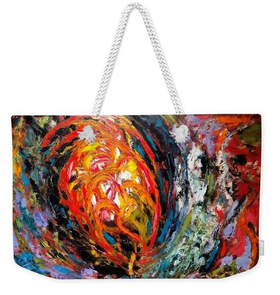Moving Energy Weekender Tote Bag