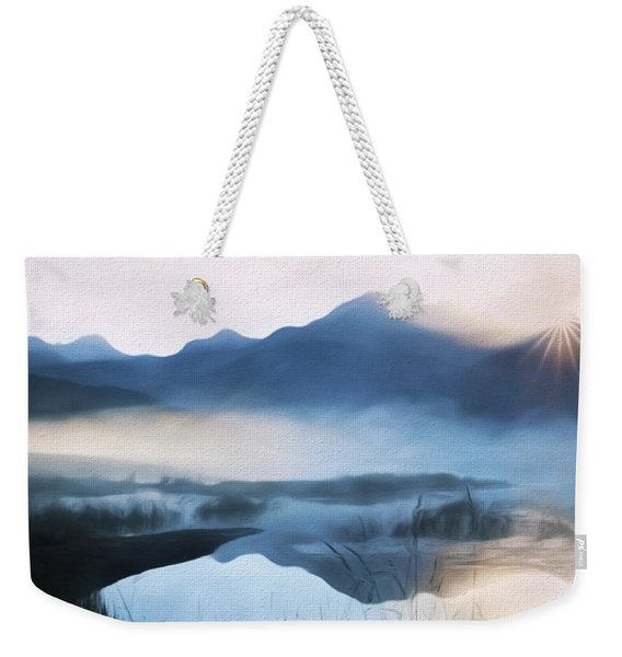 Moving Forward - Inspirational Art Weekender Tote Bag