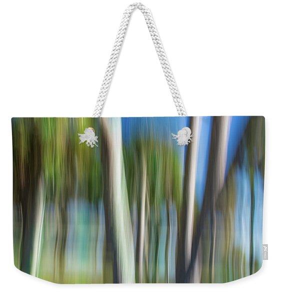 Moving Trees 31 Landscape Format Weekender Tote Bag