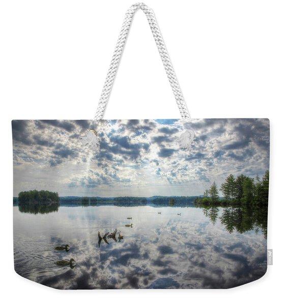 Moxie Morning Weekender Tote Bag