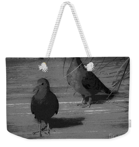 Mr And Mrs Dove Weekender Tote Bag