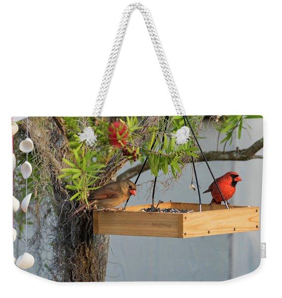 Mr And Mrs Weekender Tote Bag