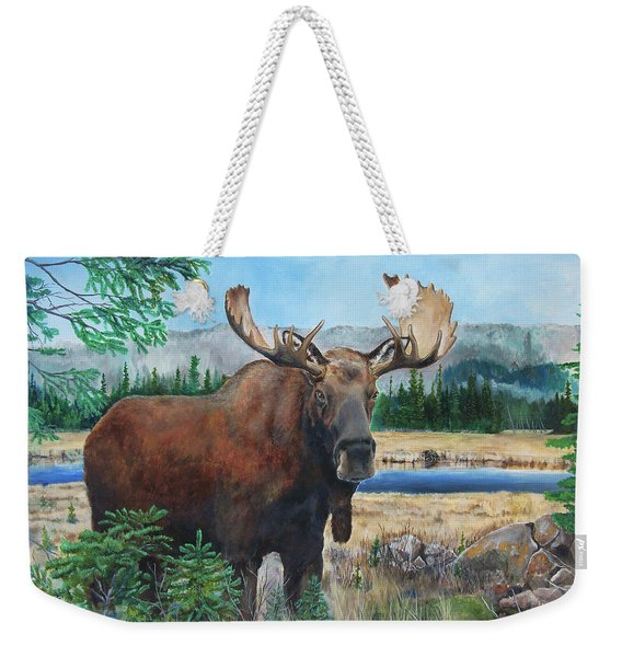 Mr. Majestic Weekender Tote Bag